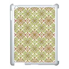 Colorful Stylized Floral Boho Apple Ipad 3/4 Case (white) by dflcprints