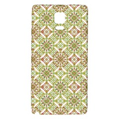 Colorful Stylized Floral Boho Galaxy Note 4 Back Case by dflcprints