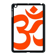 Hindu Om Symbol (orange) Apple Ipad Mini Case (black) by abbeyz71