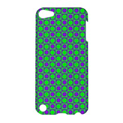 Friendly Retro Pattern A Apple Ipod Touch 5 Hardshell Case by MoreColorsinLife