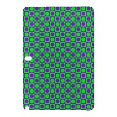 Friendly Retro Pattern A Samsung Galaxy Tab Pro 12 2 Hardshell Case by MoreColorsinLife