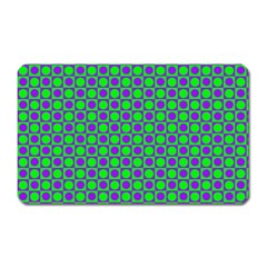 Friendly Retro Pattern A Magnet (rectangular) by MoreColorsinLife