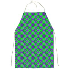 Friendly Retro Pattern A Full Print Aprons by MoreColorsinLife