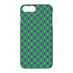 Friendly Retro Pattern A Apple Iphone 7 Plus Hardshell Case by MoreColorsinLife