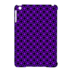 Friendly Retro Pattern B Apple Ipad Mini Hardshell Case (compatible With Smart Cover) by MoreColorsinLife