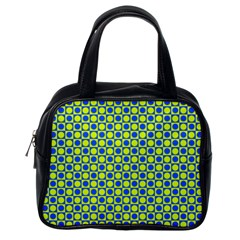 Friendly Retro Pattern C Classic Handbags (one Side) by MoreColorsinLife