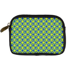 Friendly Retro Pattern C Digital Camera Cases by MoreColorsinLife