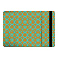 Friendly Retro Pattern D Samsung Galaxy Tab Pro 10 1  Flip Case by MoreColorsinLife