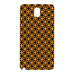 Friendly Retro Pattern F Samsung Galaxy Note 3 N9005 Hardshell Back Case by MoreColorsinLife