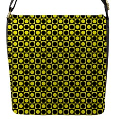 Friendly Retro Pattern I Flap Messenger Bag (s) by MoreColorsinLife