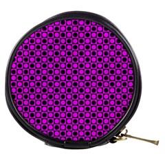Friendly Retro Pattern G Mini Makeup Bags by MoreColorsinLife
