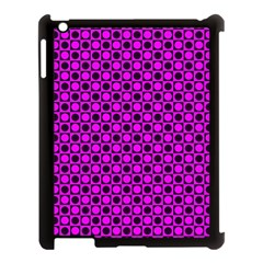 Friendly Retro Pattern G Apple Ipad 3/4 Case (black) by MoreColorsinLife