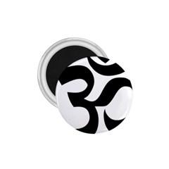 Hindu Om Symbol  1 75  Magnets by abbeyz71