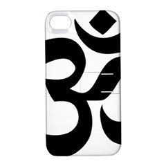 Hindu Om Symbol  Apple Iphone 4/4s Hardshell Case With Stand by abbeyz71