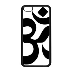 Hindu Om Symbol  Apple Iphone 5c Seamless Case (black) by abbeyz71