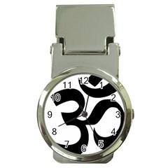 Hindu Om Symbol  Money Clip Watches by abbeyz71