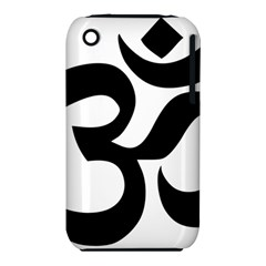Hindu Om Symbol  Iphone 3s/3gs by abbeyz71