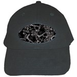 Skulls pattern Black Cap