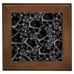 Skulls pattern Framed Tiles