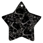 Skulls pattern Ornament (Star)
