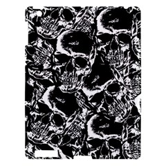 Skulls Pattern Apple Ipad 3/4 Hardshell Case by ValentinaDesign