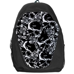 Skulls Pattern Backpack Bag by ValentinaDesign