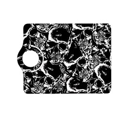 Skulls Pattern Kindle Fire Hd (2013) Flip 360 Case by ValentinaDesign