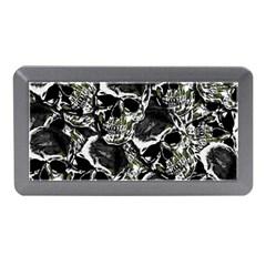 Skulls Pattern Memory Card Reader (mini) by ValentinaDesign