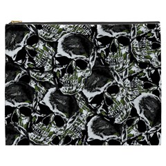 Skulls Pattern Cosmetic Bag (xxxl)  by ValentinaDesign