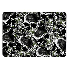 Skulls Pattern Samsung Galaxy Tab 8 9  P7300 Flip Case by ValentinaDesign