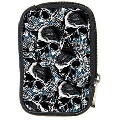 Skulls Pattern Compact Camera Cases by ValentinaDesign