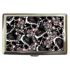 Skulls Pattern Cigarette Money Cases by ValentinaDesign