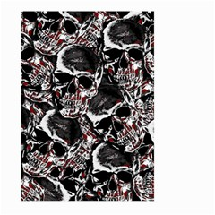 Skulls Pattern Large Garden Flag (two Sides) by ValentinaDesign