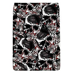 Skulls Pattern Flap Covers (l)  by ValentinaDesign
