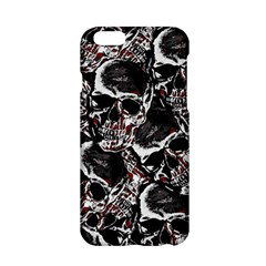 Skulls Pattern Apple Iphone 6/6s Hardshell Case by ValentinaDesign