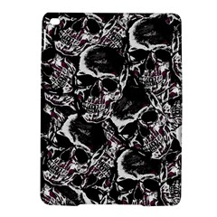 Skulls Pattern Ipad Air 2 Hardshell Cases by ValentinaDesign