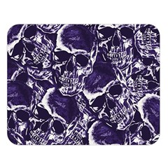 Skull Pattern Double Sided Flano Blanket (large)  by ValentinaDesign