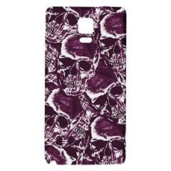 Skull Pattern Galaxy Note 4 Back Case by ValentinaDesign