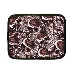 Skull Pattern Netbook Case (small)  by ValentinaDesign