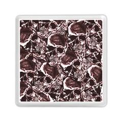 Skull Pattern Memory Card Reader (square)  by ValentinaDesign