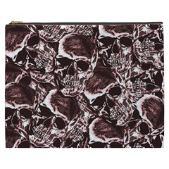 Skull Pattern Cosmetic Bag (xxxl)  by ValentinaDesign