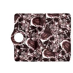 Skull Pattern Kindle Fire Hdx 8 9  Flip 360 Case by ValentinaDesign