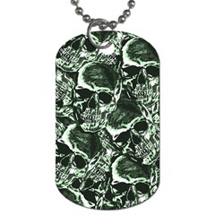 Skull Pattern Dog Tag (two Sides) by ValentinaDesign