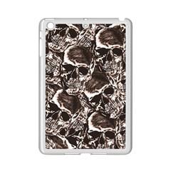Skull Pattern Ipad Mini 2 Enamel Coated Cases by ValentinaDesign