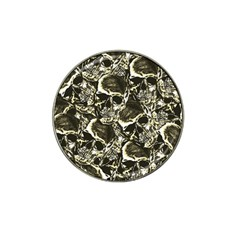 Skull Pattern Hat Clip Ball Marker by ValentinaDesign
