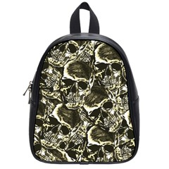 Skull Pattern School Bags (small)  by ValentinaDesign
