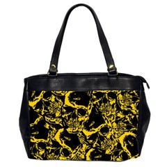 Skull Pattern Office Handbags (2 Sides)  by ValentinaDesign