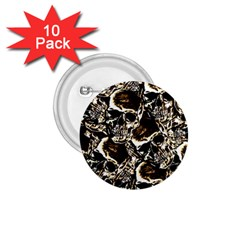 Skull Pattern 1 75  Buttons (10 Pack) by ValentinaDesign