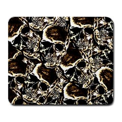 Skull Pattern Large Mousepads by ValentinaDesign