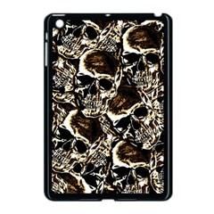 Skull Pattern Apple Ipad Mini Case (black) by ValentinaDesign